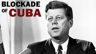 Kennedy Announces Blockade of Cuba During the Missile Crisis   1962   Cold War Era Newsreel