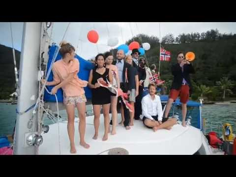 17th of May (Norways national day) celebration in Rikitea, Gambier Islands