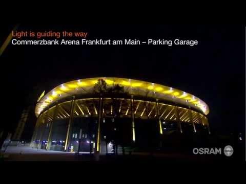OSRAM SubstiTUBE HF LED tubes @ Commerzbank Arena Parking Garage Frankfurt