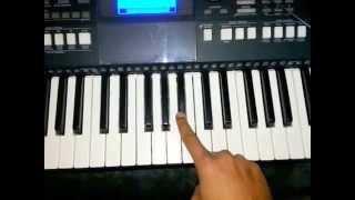 Char kadam from PK Full Piano Lesson tutorial