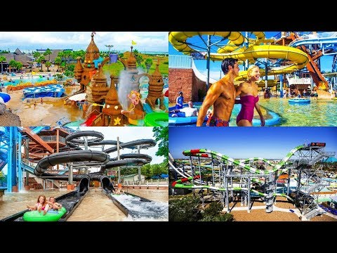 All Schlitterbahn WaterPark Resorts for Family Fun:  All Waterslides and Attractions