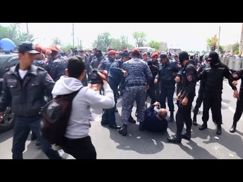 AFP news agency: Armenians react to political turmoil gripping their country