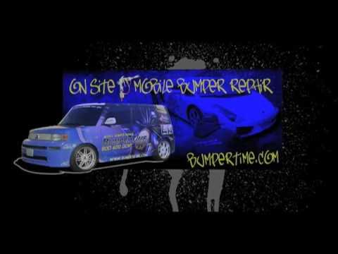 San Diego Mobile Auto Body Shop / Bumper Scratch Repair / Scuffs, Dents, Holes