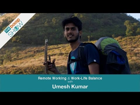 EP01: Remote Working & Work-Life Balance with Umesh Kumar – The BaapWP Show