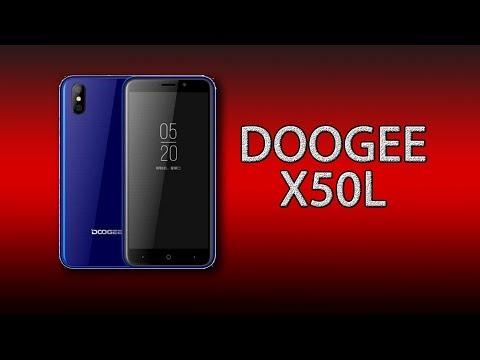 Doogee X50l - самый бюджетный смартфон с 4G!