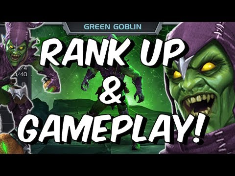 Green Goblin Rank Up & Gameplay - Marvel Contest Of Champions