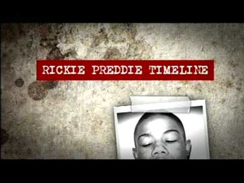Damilola's killer - Ricky Priddle back in jail... again (BBC1 London coverage)