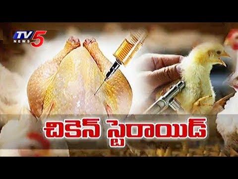 ఆ చికెన్ తిన్నారో.. అంతే! | Steroids & Antibiotics in Chickens | TV5 News