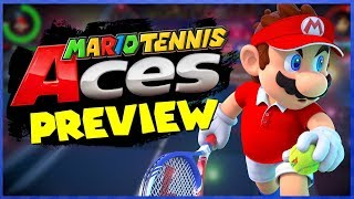 Mario Tennis Aces PREVIEW!