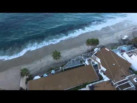 Drone flight 12 Laguna beach sunrise