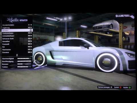 GTA 5 Online - Custom Car Builds - I Robot Audi RSQ