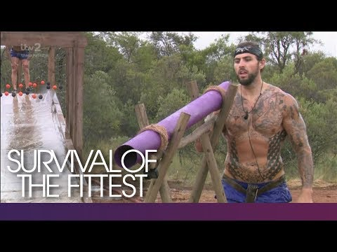 The Teams Glide Through the Slip N Grip Challenge | Survival Of The Fittest