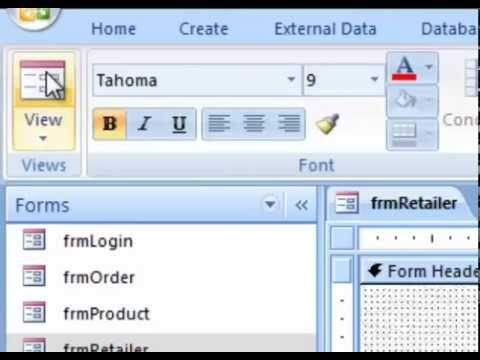 How to Use VBA : Microsoft Access Tutorial