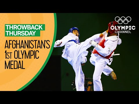 Rohullah Nikpai wins first Afghanistan Olympic Medal at Beij