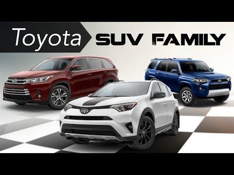 Toyota SUV Family Walk Around