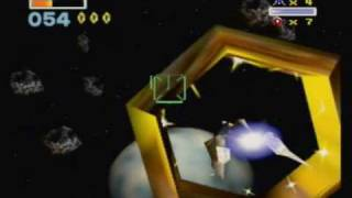Let's Play Star Fox 64-Part 2-The Asteroid Field