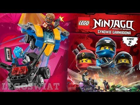 Lego Super Heroes 76090 Ninjago Synowie Garmadona Część 2