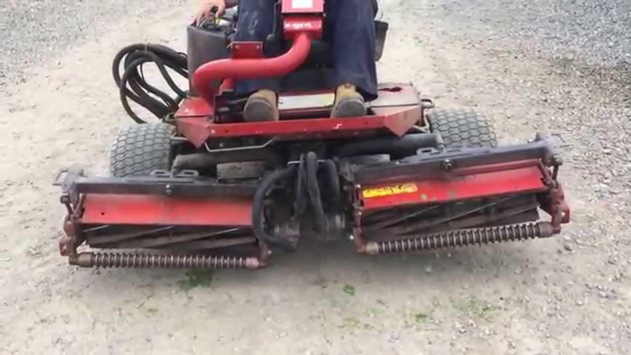 Toro 3100-d Reelmaster Diesel Mower