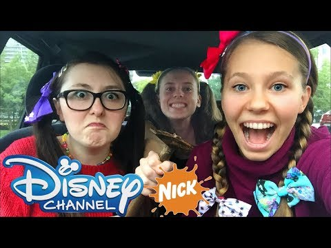 CARPOOL KARAOKE 🎤 DISNEY CHANNEL & NICKELODEON