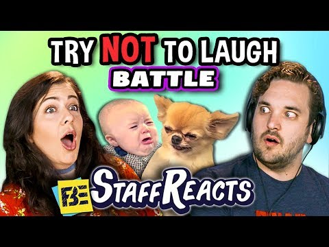Thumbnail: Try To Watch This Without Laughing or Grinning Battle #5 (ft. FBE Staff)