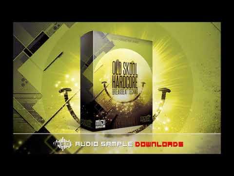 Old Skool Hardcore Breakbeat Techno Sample Pack
