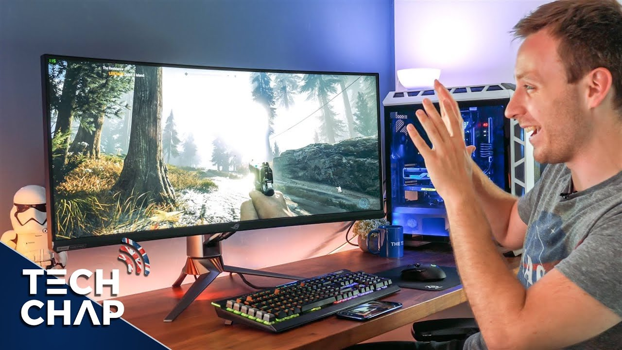 ASUS ROG PG35VQ Review - The Best GAMING Monitor in the World! | The Tech Chap