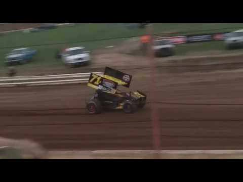 Randy Hannagan Qualifying  Terre Haute Action Track