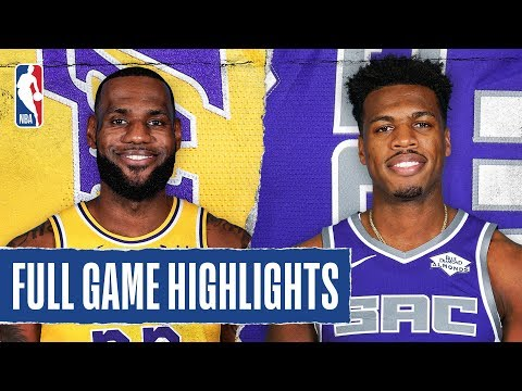 LAKERS at KINGS   FULL GAME HIGHLIGHTS   February 1, 2020