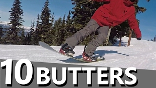 10 Snowboard Butter Tricks to Learn First