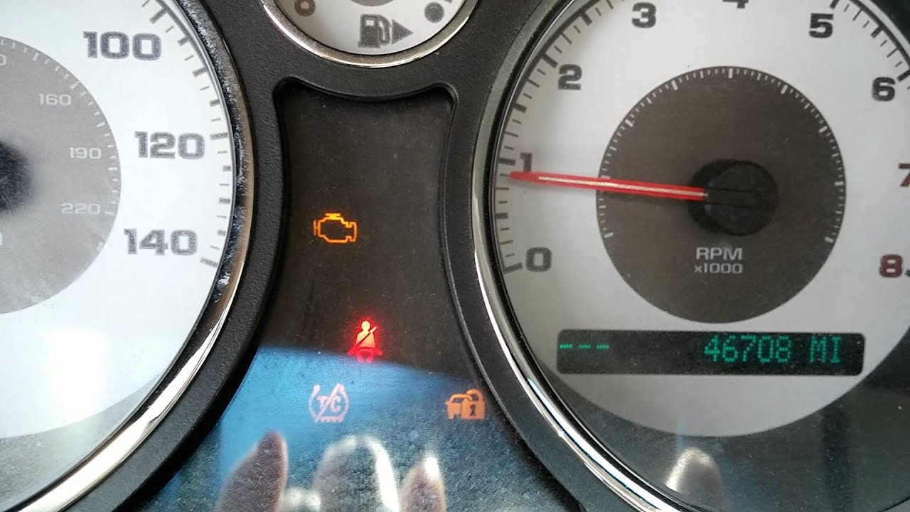 2005 chevy cobalt dashboard lights electrical problems [ 1280 x 720 Pixel ]