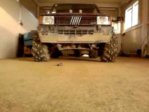 Fiat panda 4x4 1 9 d offroad 1 youtube for Panda 4x4 sisley off road