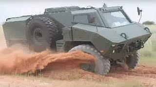 BAE Systems - RG35 4X4 Reconnaissance Patrol Utility (RPU) Vehicle [480p]