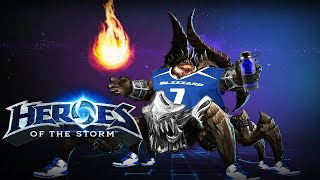 Heroes of the Storm (HotS) | UNSTOPPABLE | Azmodan Gameplay ft. Sinvicta