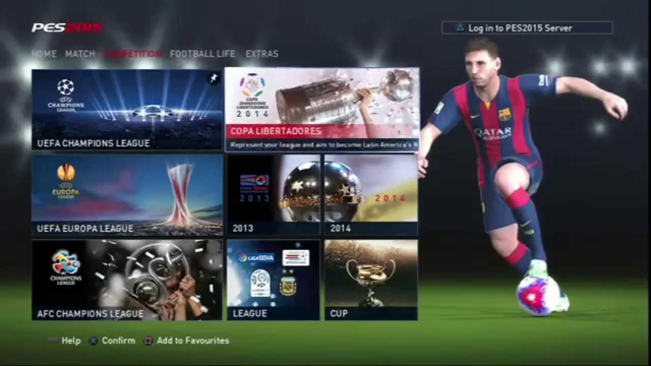 Champions league intro pes 2014 liga de campeones - 5 3