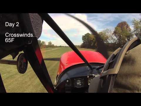 PA18 Super Cub STOL Landing Practice
