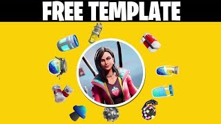Fortnite Intro Template For Free | AE Simple Logo Opener | Customizable Template | 2019 Fortnite