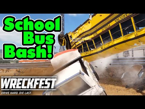 Apple Demonstrates How To Cornerbomb A Bus! Wreckfest Ep117 Online Multiplayer