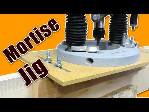 Make a Mortising Jig for the Router (Mortise and Tenon Joinery)