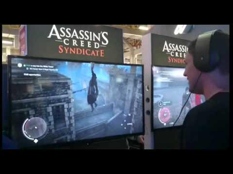 Assassin's Creed - Syndicate jogo apresenta bugs durante a BGS 2015