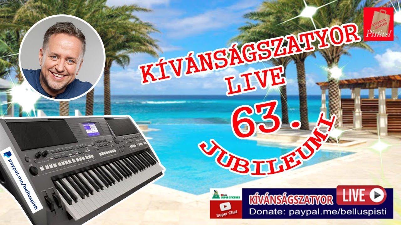 KÍVÁNSÁGSZATYOR LIVE 63.