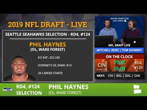 Seattle Seahawks Draft Phil Haynes With Pick #124 In 4th Round Of 2019 NFL Draft - Grade & Analysis