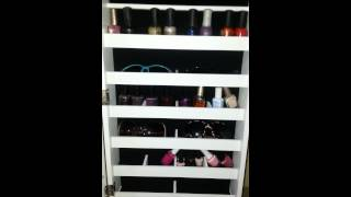 My jewelry cabinet with full length mirror