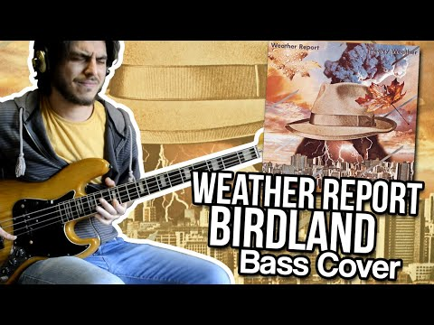 Weather Report - Birdland (Bass Cover) // Better Call John!