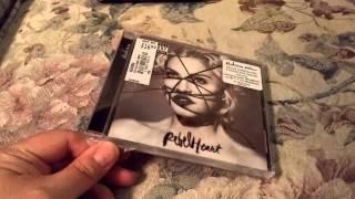 Madonna Rebel Heart (3) CD Unboxing