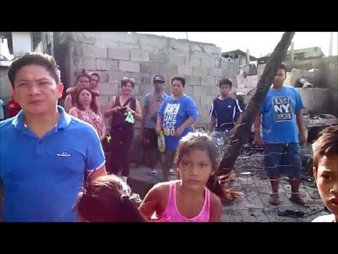 Rebuilding a Philippine informal settler's village after a massive fire ~ Iliolo City, Philippines