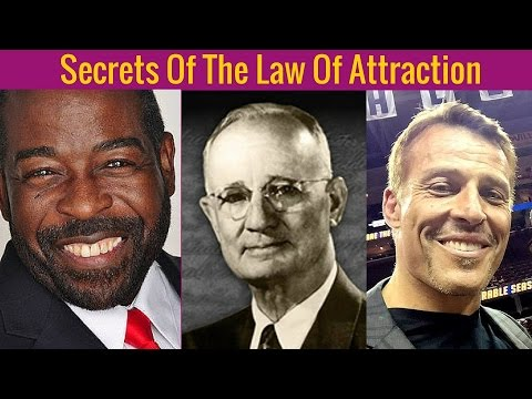 NAPOLEON HILL,Tony Robbins & Les Brown - Secrets Of The Law Of Attraction