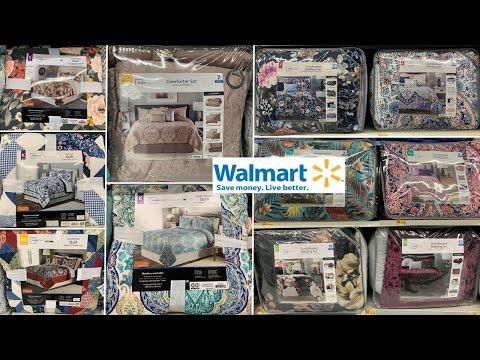 Walmart Bedding Sets | Home Decor Bedroom Decor | Shop With Me 2020