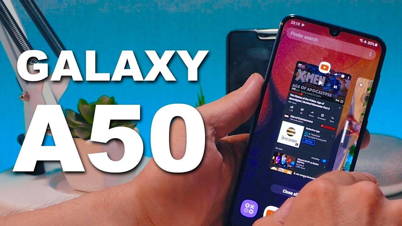 Samsung Galaxy A50 სრული განხილვა 🔴