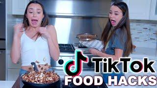 Trying TikTok Food Hacks! - Merrell Twins
