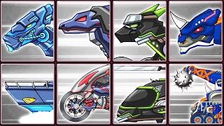 Dino Robot Corps #13: Ninja Parasau & His Enemies | Eftsei Gaming